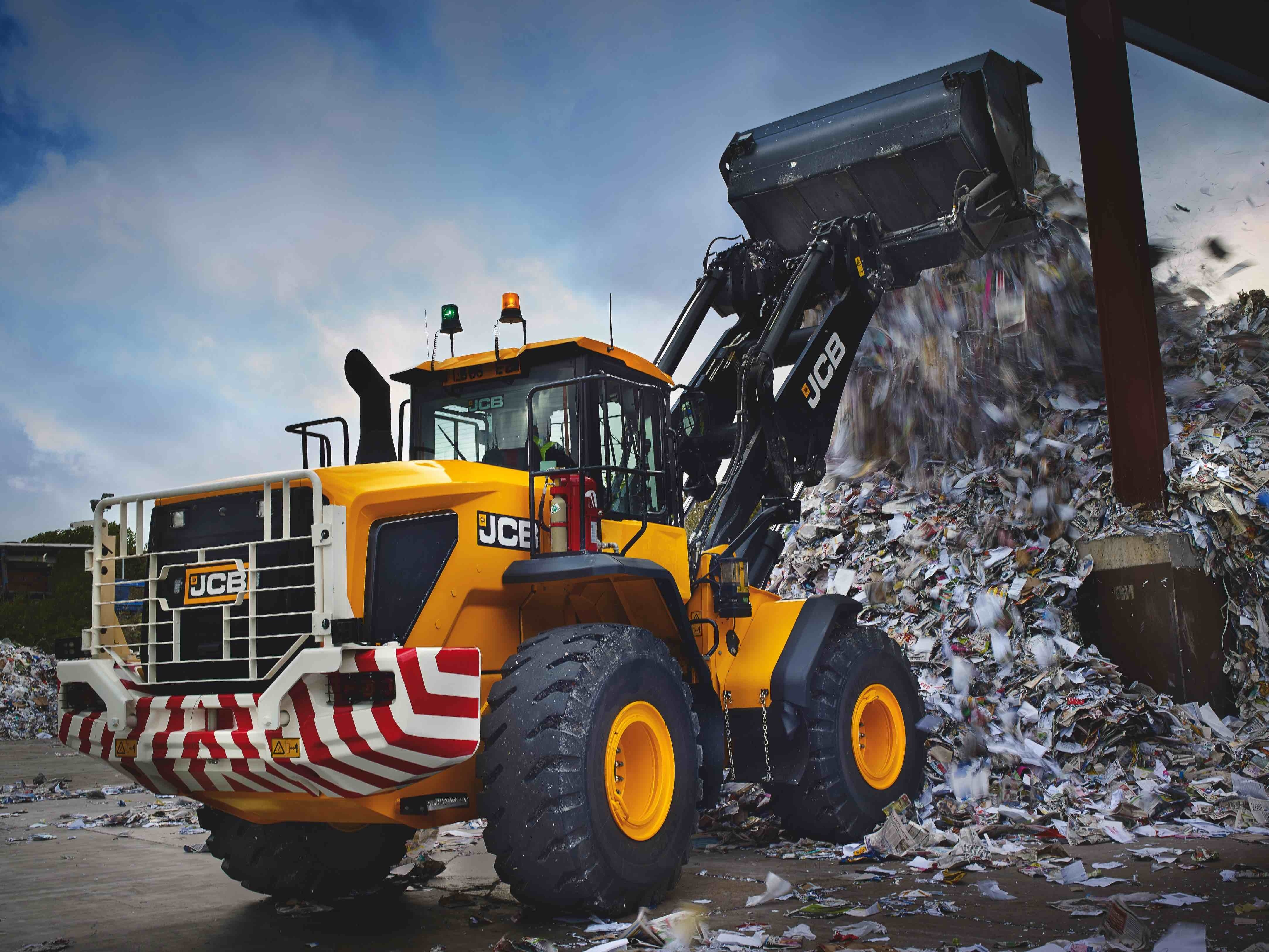 JCB rolls out new 'Wastemaster'