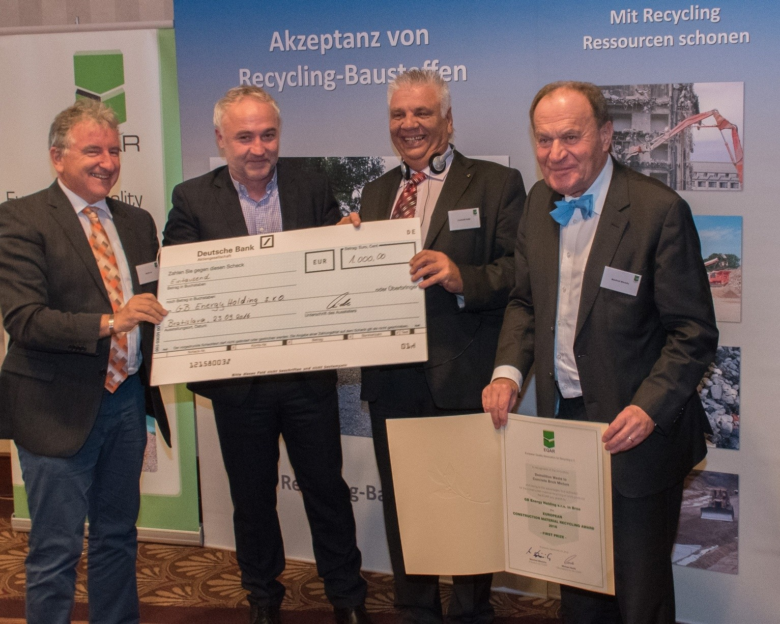 EQAR congress discusses recycling in Europe