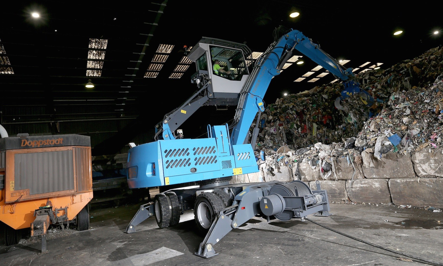 RiverRidge Recycling goes electric