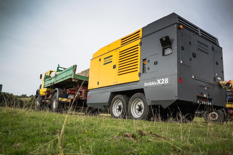 Atlas Copco launches DrillAir X28 compressor
