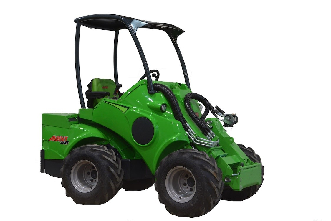 Avant Tecno's new battery powered loader