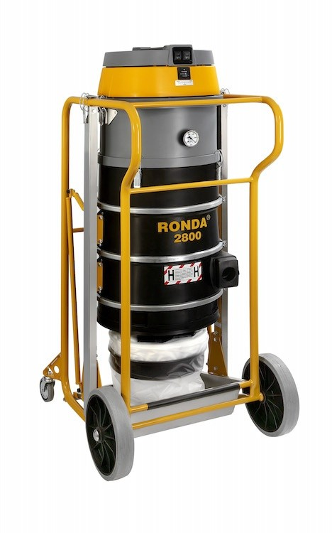 New Ronda 2800H vacuum cleaner at Bauma