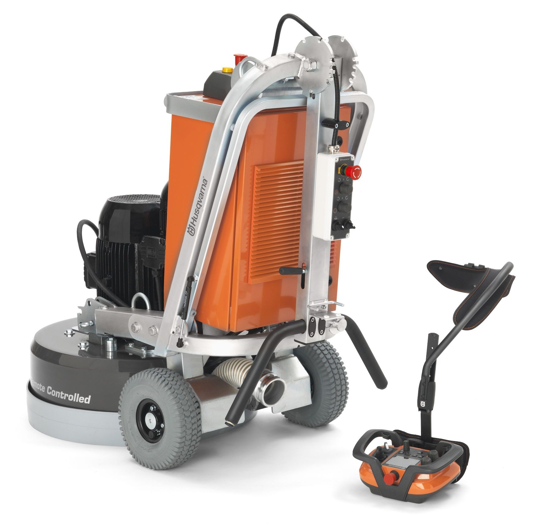New Husqvarna PG 680 RC floor grinder