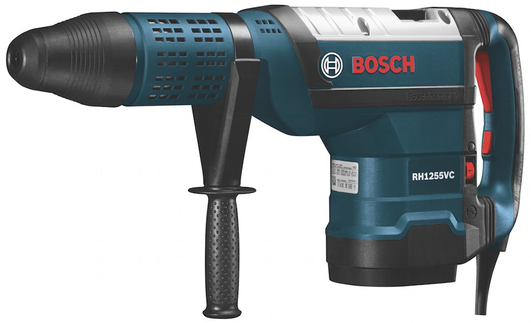 Bosch adds the RH1255VC SDS-Max rotary hammer