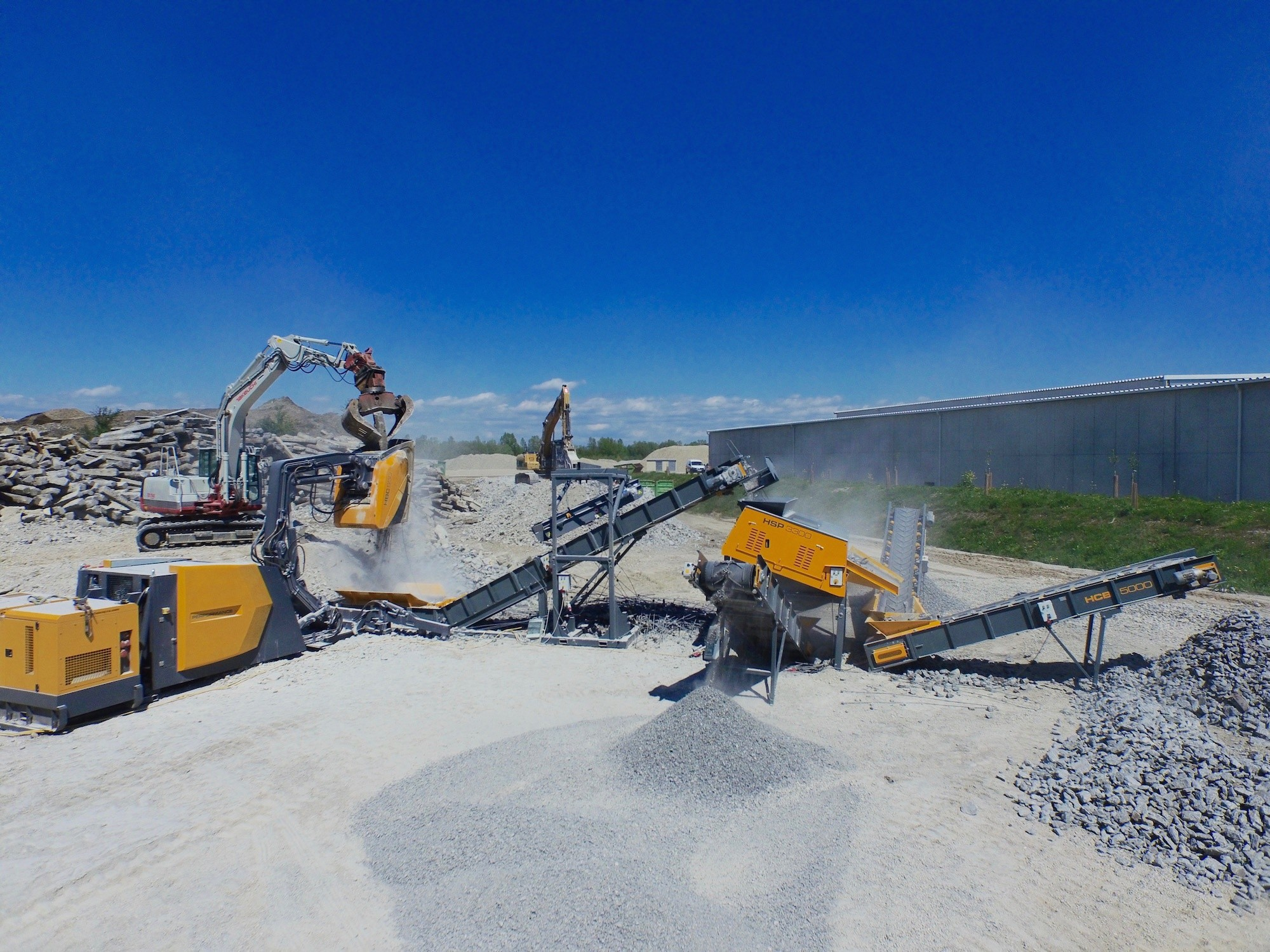 Hartl 's new products at Bauma