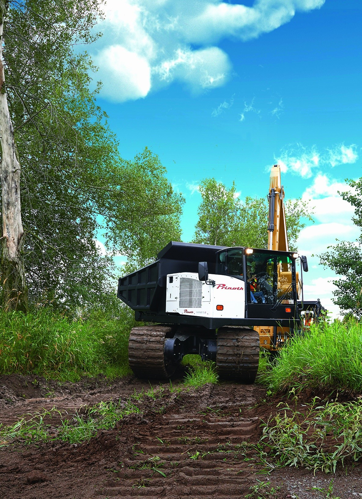 Prinoth adds Panther T14R rotating dumper