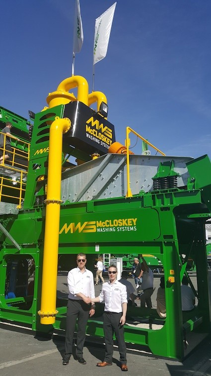 New UK dealer for McCloskey Washing Systems