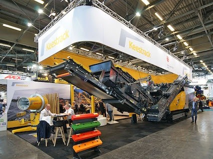 World premiere ensures a successful Intermat for Keestrack