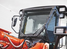 Hitachi enhances durability and safety of ZW180-6 and ZW220-6 wheel loaders