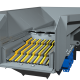 Highly efficient pre-screening for higher crusher throughput and operating lower cost