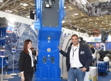 Hammer rocks the floor at bauma
