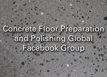 The Facebook group Concrete Floor Prep and Polishing – Global is increasing in popularity