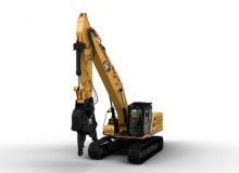 New ultra high demolition excavator model from Caterpillar